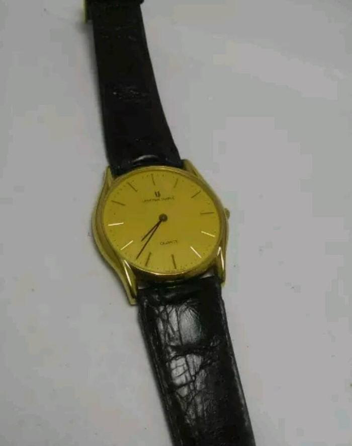 Jual Jam Tangan Pria Universal Geneve Quartz Swiss Made - arloji ... 6f9a5697af