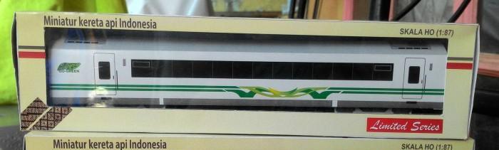 harga Gerbong argo bromo go green - miniatur kereta api indonesia Tokopedia.com