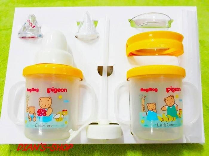 harga Gelas cangkir botol minum anak bayi pigeon mag mag all in one isi 2 Tokopedia.com
