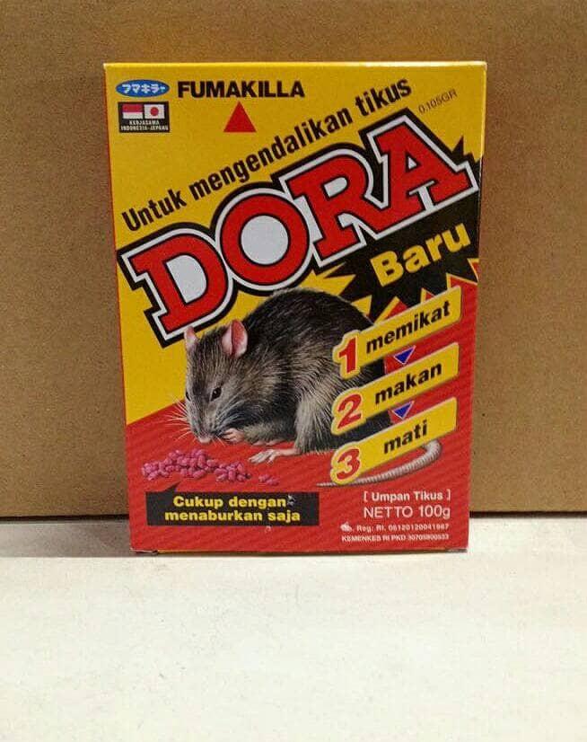 Foto Produk DORA Racun Tikus 100 gr dari JiiSoii