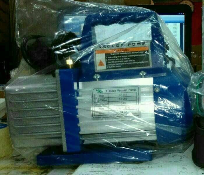 Vacum pump ac/pompa vakum/vacuum ac handen 1/4 pk vp 115