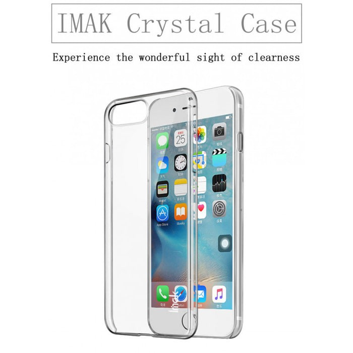 Foto Produk Apple Iphone 7 Plus / Iphone 8 Plus Case Imak Crystal Case II - Clear dari GrandePath