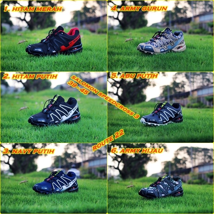 ... Sepatu Salomon Speedcross 3 Running trekking hiking low Black Source Sepatu Salomon Low Black Premium Original