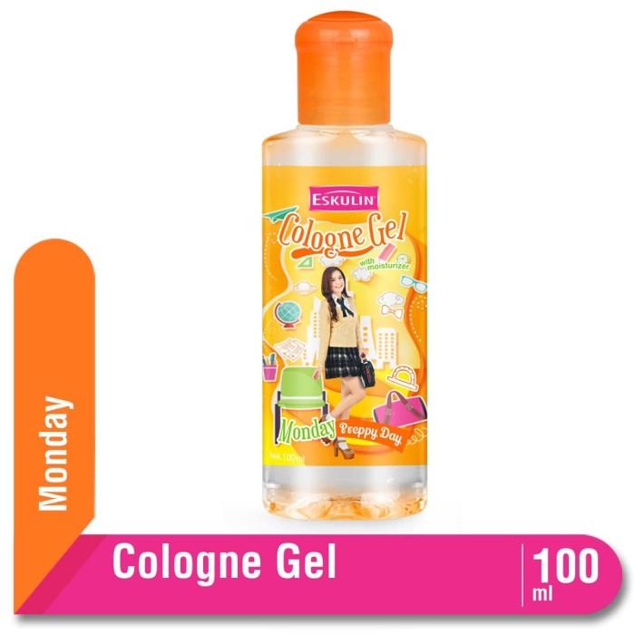 Eskulin Cologne Gel Day Monday Bottle 100 mL