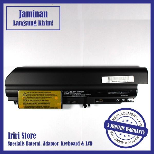 harga Baterai laptop ibm lenovo thinkpad r400 t400 t61 r61 42t5264 oem Tokopedia.com