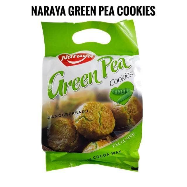 Biskuit Naraya Cookies 280gr Green Peas