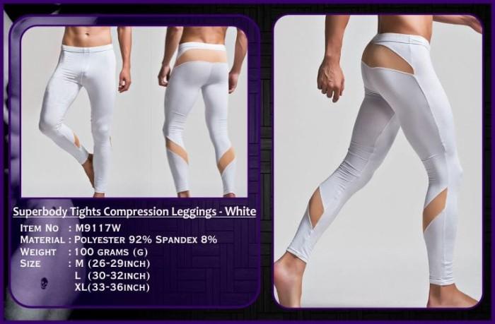 Jual M9117 Celana Panjang Pria Boxer G String Thong Legging Celana Training Putih L Kota Batam Jjade Id Tokopedia