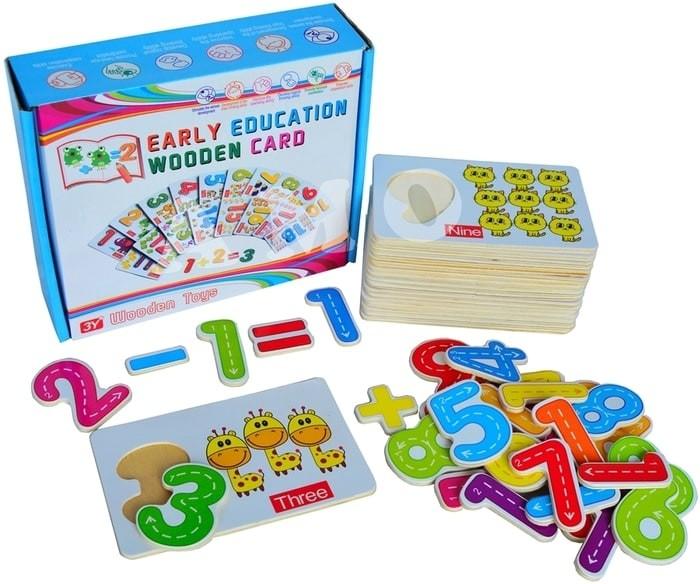special EARLY EDUCATION WOODEN CARD - MAINAN EDUKATIF EDUKASI ANAK