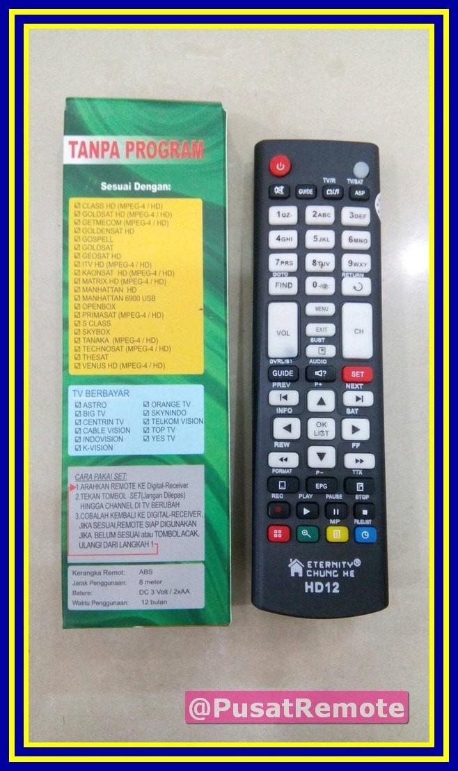 Jual Remote Receiver Parabola Skybox Tanaka Technosat HD Multi Univer - DKI  Jakarta - Pusat Remote | Tokopedia