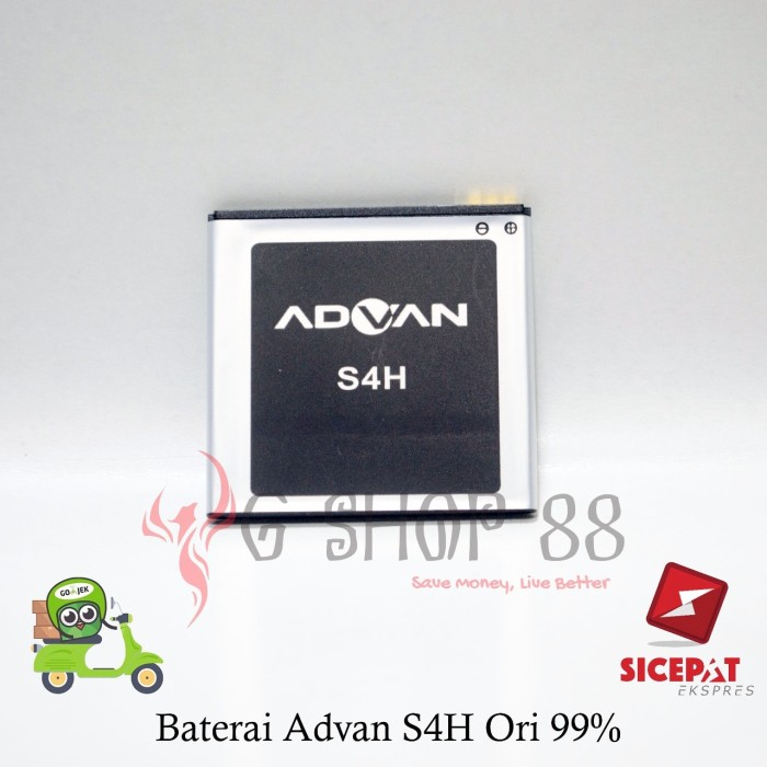 Baterai Advan S4h S4 H S 4 Ori 99 Batre Battery Gaia
