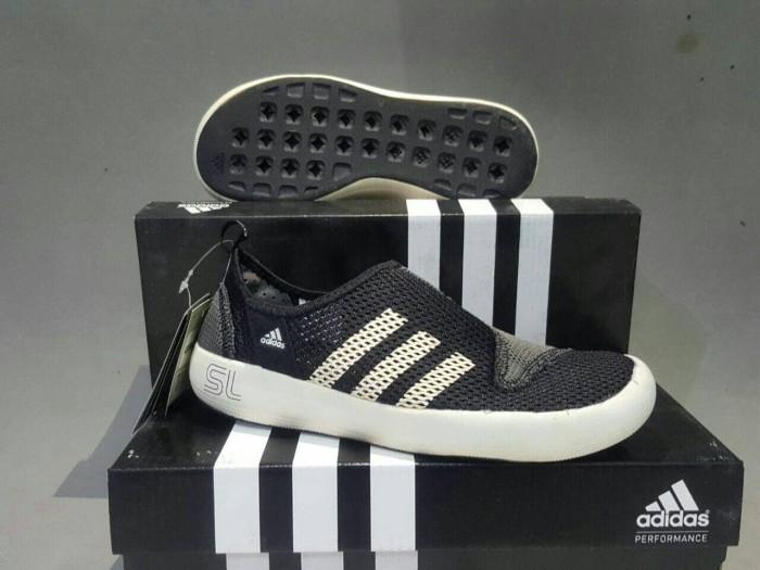 harga Sepatu slip on/sepatu adidas climacool boat sl black premium bnib Tokopedia.com