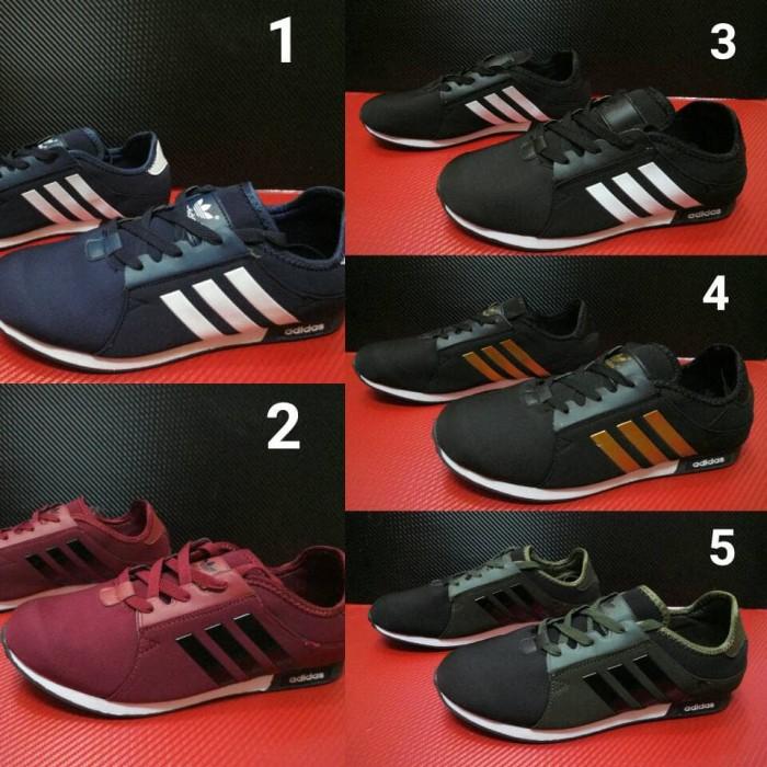 ... harga Sepatu casual adidas neo cowok murah   kets sneakers santai main  pria Tokopedia.com 65ff91c88a