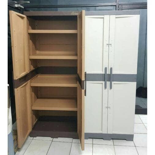 harga Lemari plastik /laci / lemari gantung / rak serbaguna portable pintu 2 Tokopedia.com