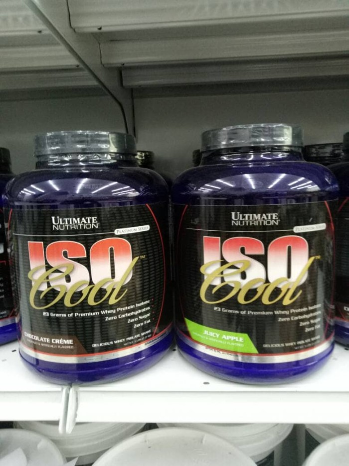 Foto Produk Iso Cool 5lbs Ultimate Nutrition Iso 100 dari suplement nutrition