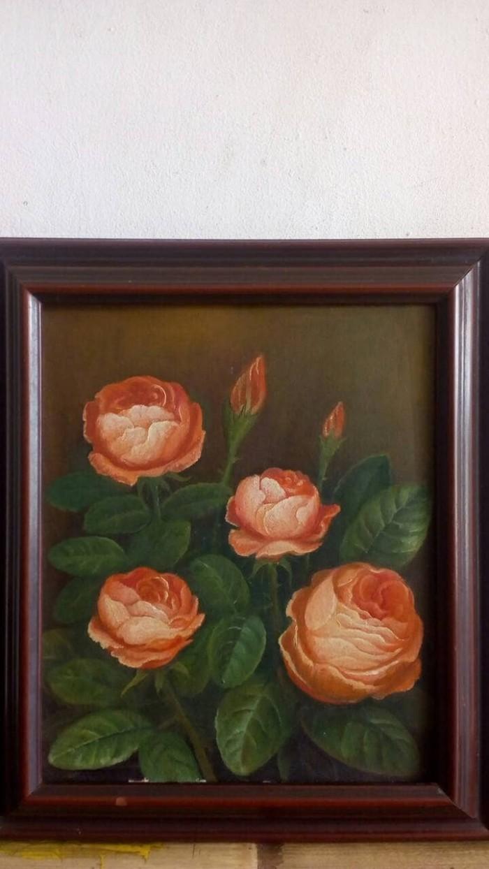 Jual Lukisan Bunga Mawar Kota Tangerang Respati Transport