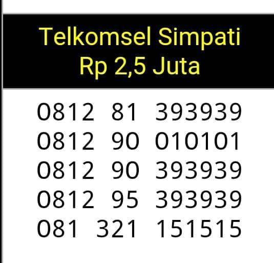 Home; Telkomsel Simpati Nomor Cantik 0812 81 33334. nomor cantik& 40 0812 81 393939&