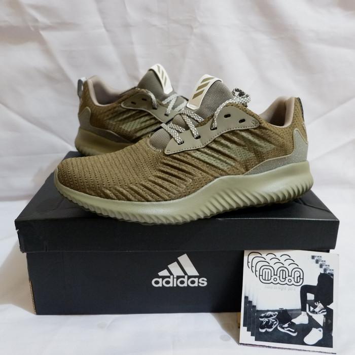 60d5971a1 Jual Adidas Alphabounce RC M Green Original sepatu lari running not ...