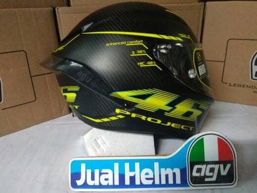 Jual Agv Pista Project 46 Rossi Carbon Helmet Kota Semarang Jual Helm Agv Tokopedia