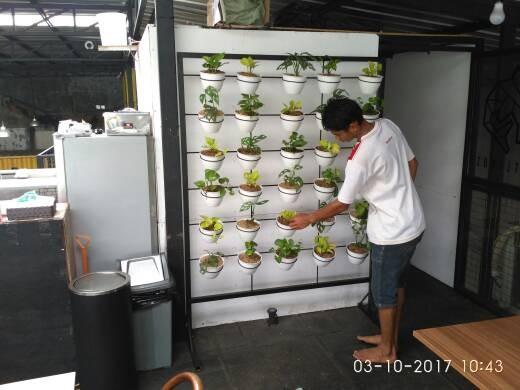 Rak Pot Minimalis