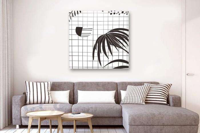 harga Lukisan scandinavian seluas harapan minimalis bisa custom Tokopedia.com