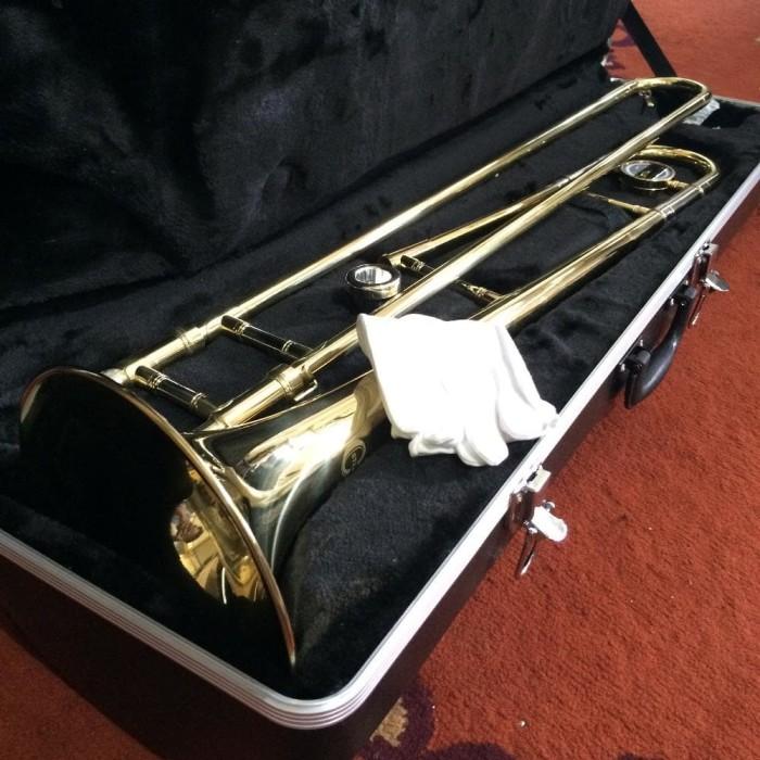 harga Billy musik - trombone alto ostrava gold with hardcase Tokopedia.com