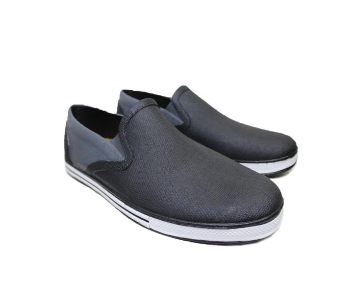 b63a1b01c5f Jual Sepatu Casual   Sepatu Karet New Era Penny Loafer in Black Sky ...