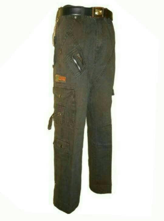 harga Celana cargo panjang/murah/size 27-38/kanvas tebal Tokopedia.com