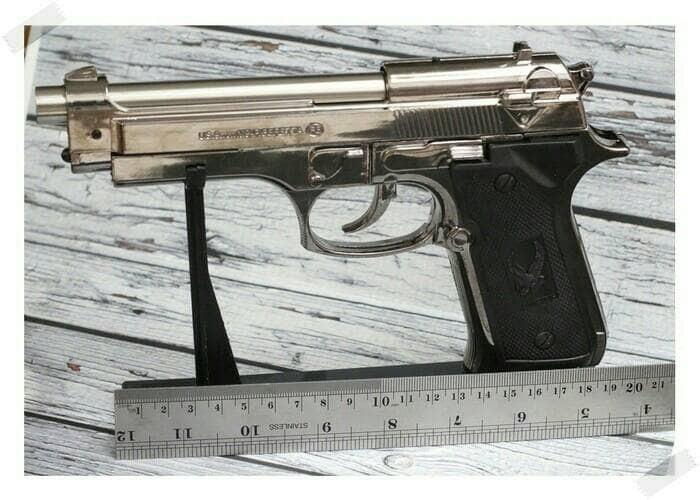 harga Korek api pistol baretta Tokopedia.com