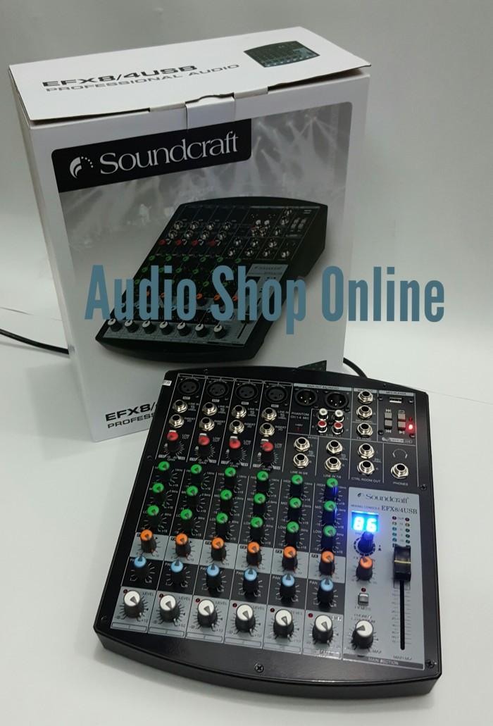 harga Audio mixer soundcraft efx 8 usb ( black ) Tokopedia.com