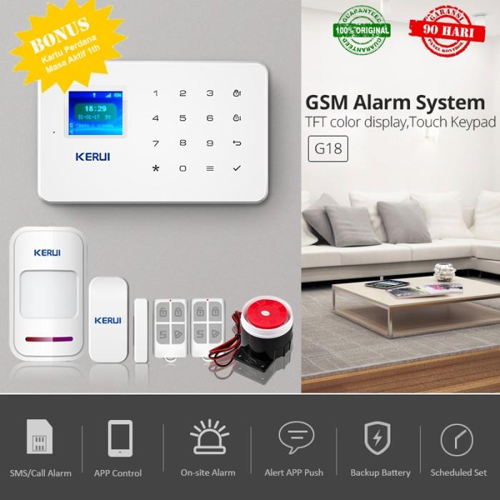 harga Alarm rumah pintar gsm android ios wireless inteligent burglar alarm Tokopedia.com