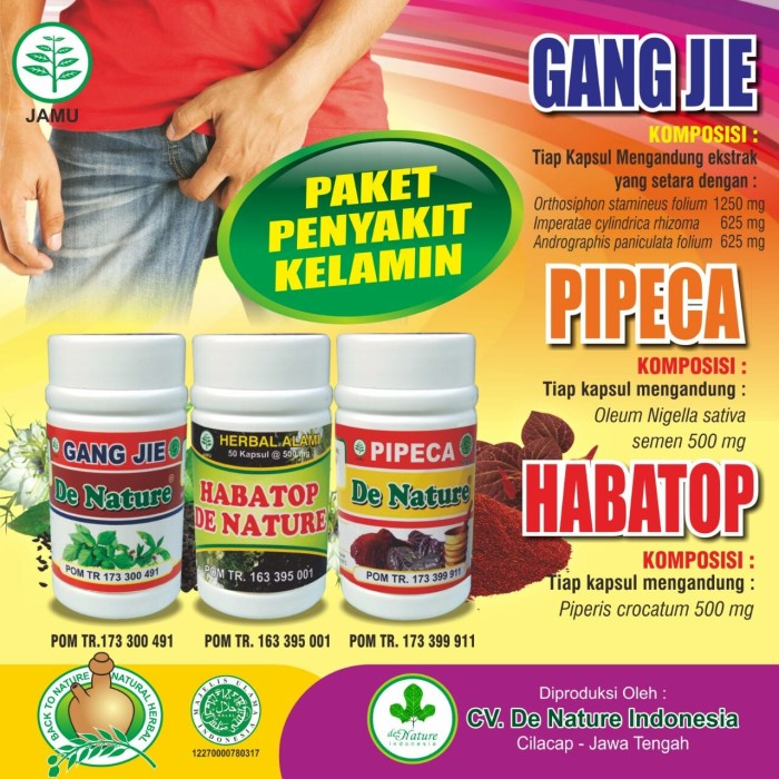 Foto Produk Obat Sipilis Herbal De Nature dari gegedenature