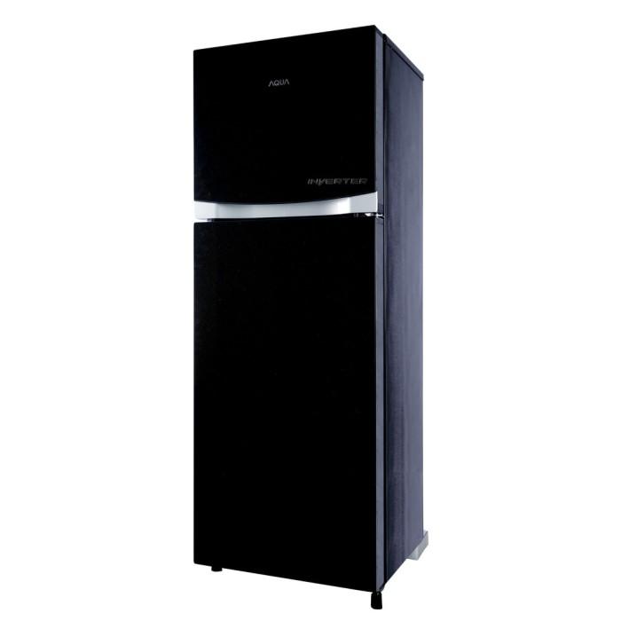 harga Promo kulkas 2 pintu aqua aqr-d275r inverter Tokopedia.com