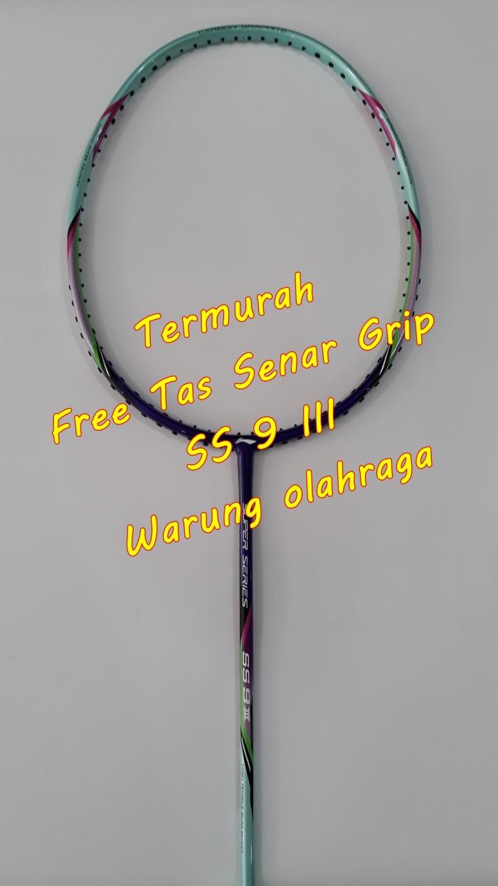 Jual Lining Ss 9 Raket Badminton Bulutangkis Warung Olahraga Isi Dua Cover