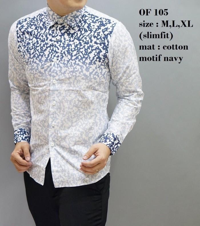 Twenteme Batik Pria Slimfit Ls 836 Daftar Harga Terkini dan Source · BAJU BATIK SLIMFIT KEMEJA