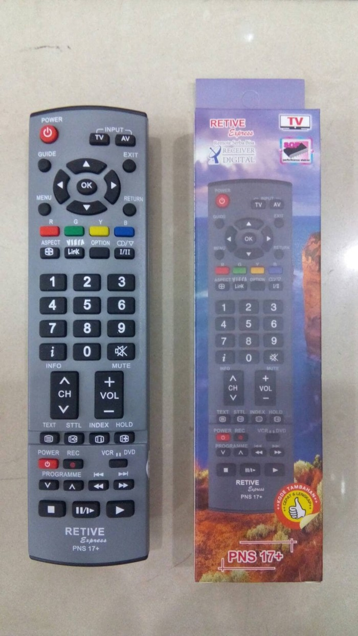 REMOT/REMOTE TV PANASONIC LCD/LED/PLASMA MULTI/UNIVERSAL NS