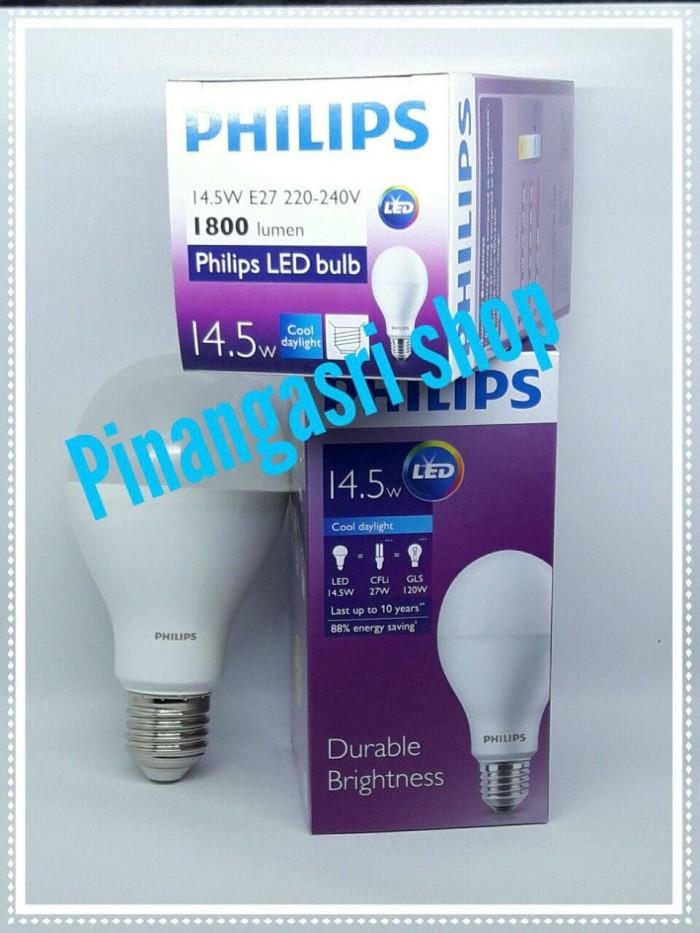Lampu LED Philips 14 watt 14w Philip Putih 14.5 w Bulb Pengganti 16 18