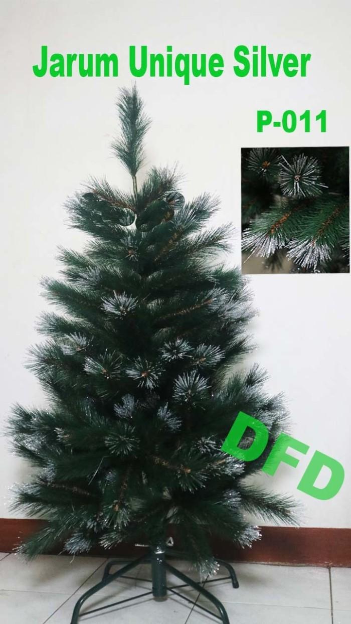 harga Pohon natal ukuran : 90 cm jarum unique silver ( kode : p-011 ) Tokopedia.com