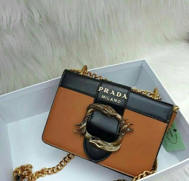 ... official tas prada animalier cahier embellished snake buckle bag import  murah 4f759 a3673 coupon for jual ... bae39e7227