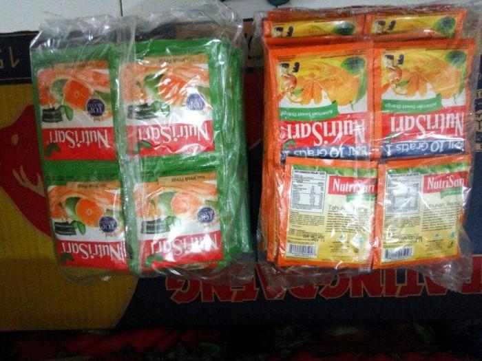 harga Nutrisari jeruk peras rencengan pack isi 40 sachet 14 gram Tokopedia.com