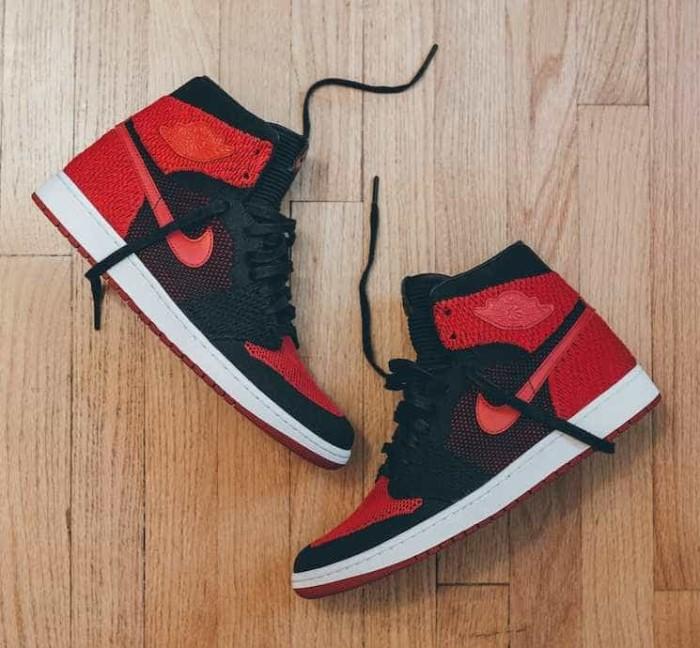 hot sale online 31c62 5d0e6 Nike Air Jordan 1 Retro Hi Flyknit