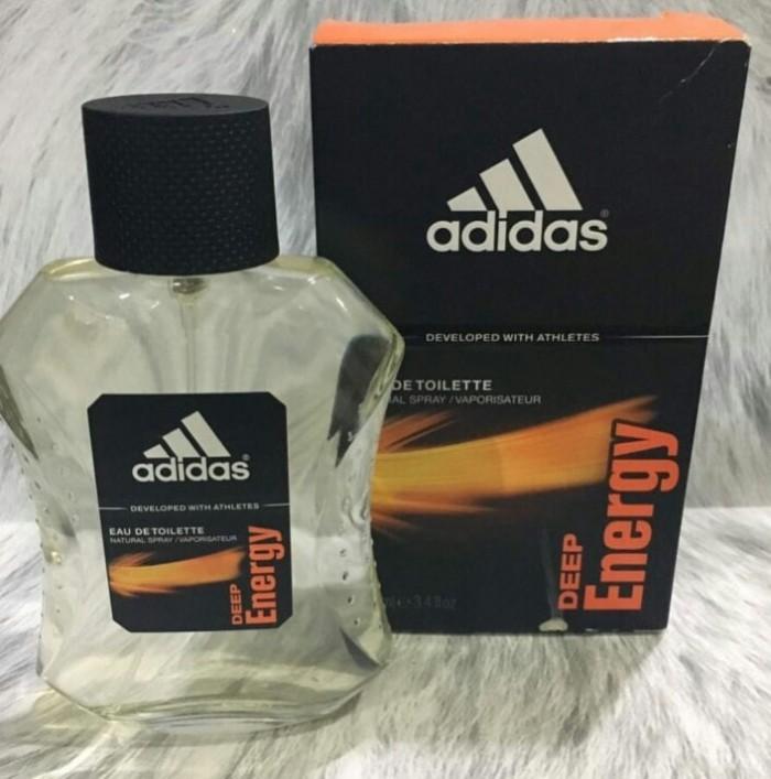fecha de lanzamiento: mejores telas rebajas outlet Jual Parfum ORI Adidas Deep Energy with box - Jakarta Barat ...