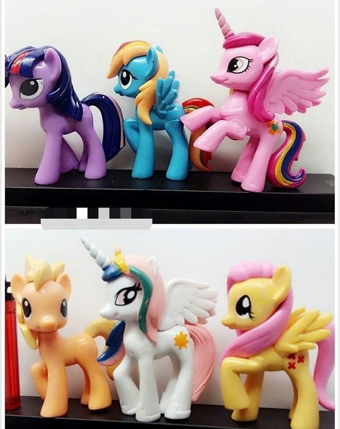 Jual Hiasan Kue Tart Ultah Birthday Cake Topper Little Pony Poni Cantik Big Kota Bandung Nikida Kitchen Tokopedia
