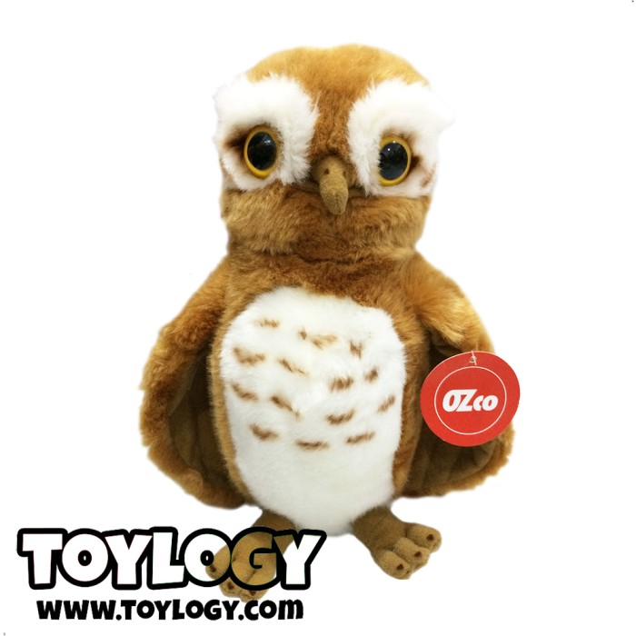 harga Ozco boneka hewan burung hantu ozco cokelat ( owl bird doll ozco ) 11 Tokopedia.com