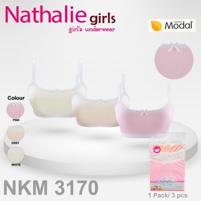 harga Nathalie miniset anak wanita (1 pack 3 pcs)  nkm 3170 Tokopedia.com