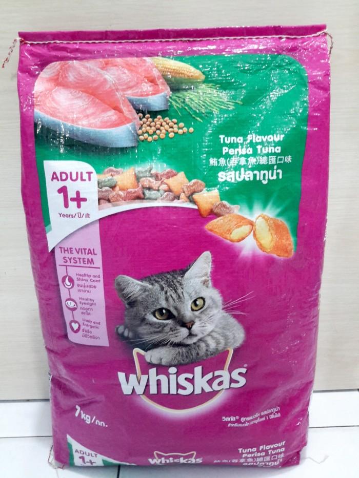 Whiskas adult tuna 7kg (Khusus Gojek)