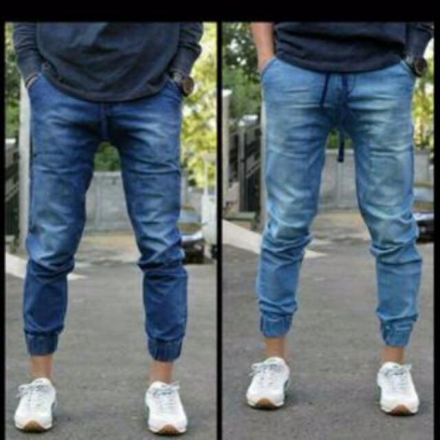 Celana Jogger Pria Batik: Jual Promo Celana Jogger Jeans Pria Cowo Berkualitas