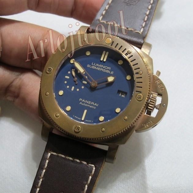harga Jam Tangan Panerai Pam 671 : Luminor Submersible 1950 3 Days Bronzo Tokopedia.com