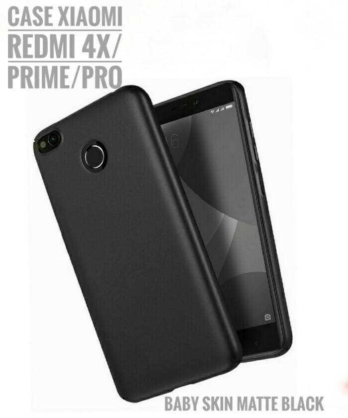 huge selection of 82c13 c815c Jual Casing Xiaomi Redmi 4X / Prime Case Soft Matte Black Silicon Cover -  Kota Bekasi - keongbalap | Tokopedia