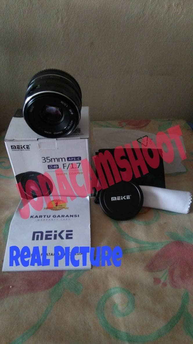 harga Lensa meike 35mm f1.7 for fujifilm fuji xm1 xa1 xa2 xa3 xa10 xt10 Tokopedia.com