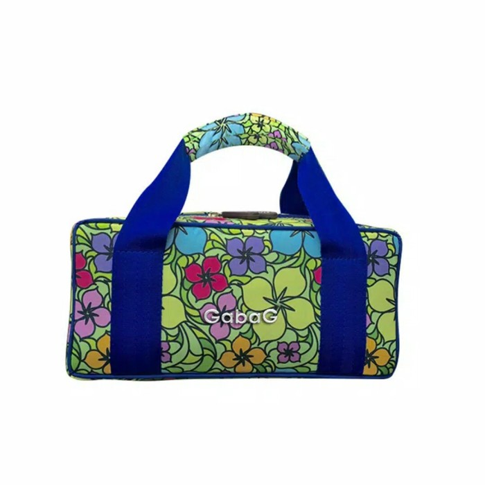 Gabag floral med kit bag
